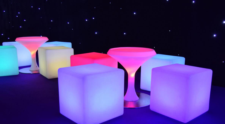LED Cube Hire Uk