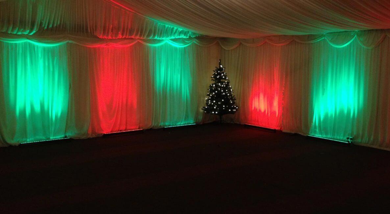 Whittlebury Hall LED Uplighting