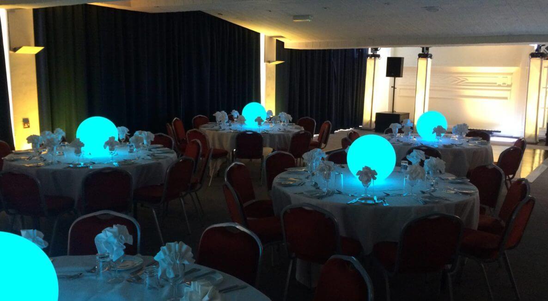 Awards Evening Table Centres