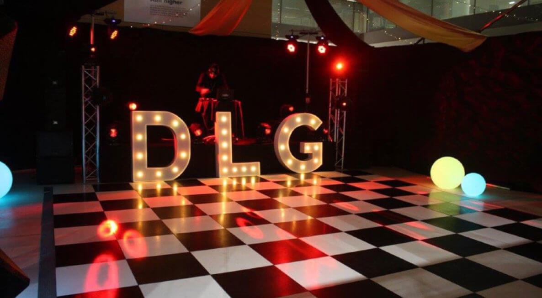 Checkerboard Dancefloor Hire