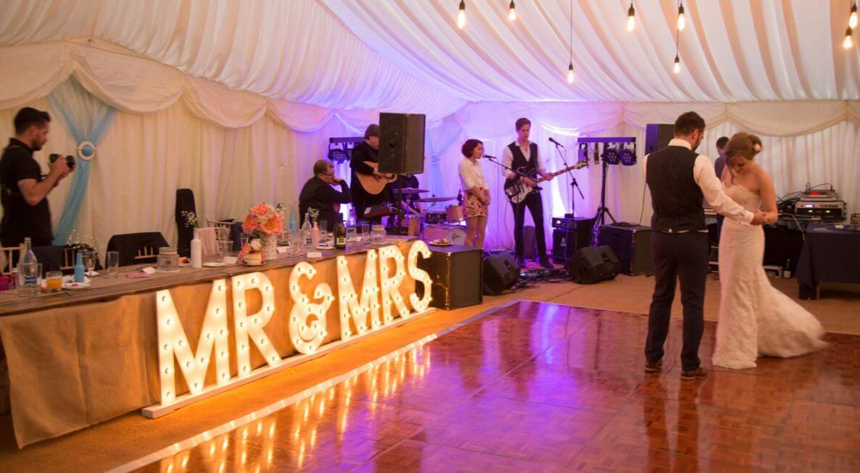 Wedding Wooden Floor Hire