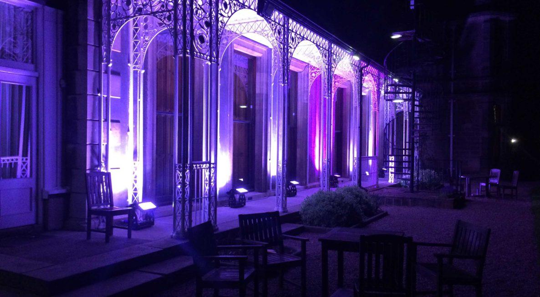 Wedding Venue Lighting Hire