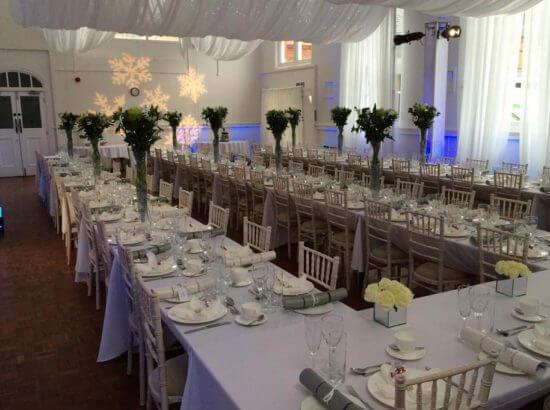 Wedding Trestle Table hire