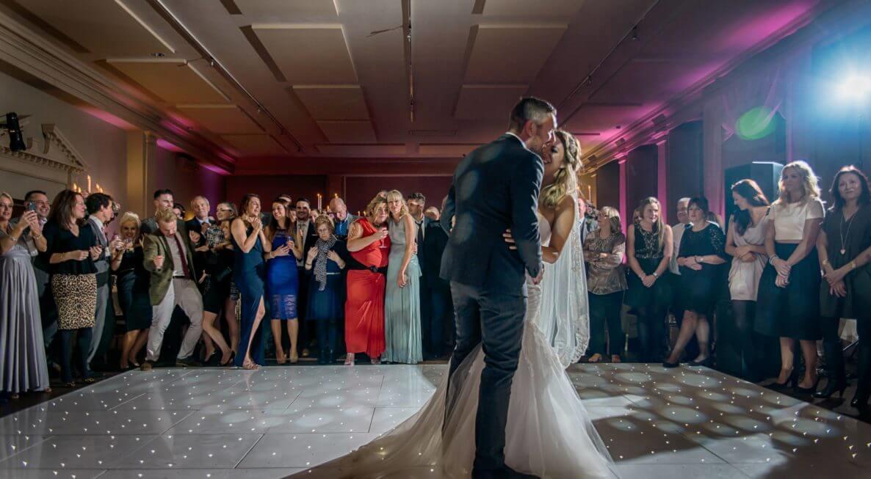 Wedding White Starlit Dance Floor Hire