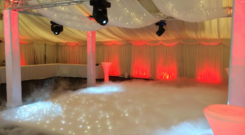 Wedding Low Lying Fog Hire