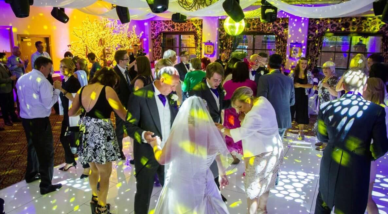 Ansty Hall Wedding Lighting