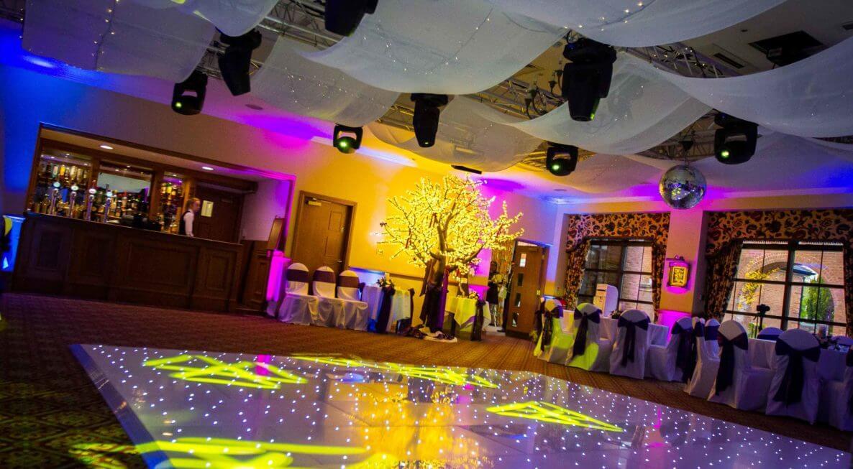 Ansty Hall Dance floor Hire