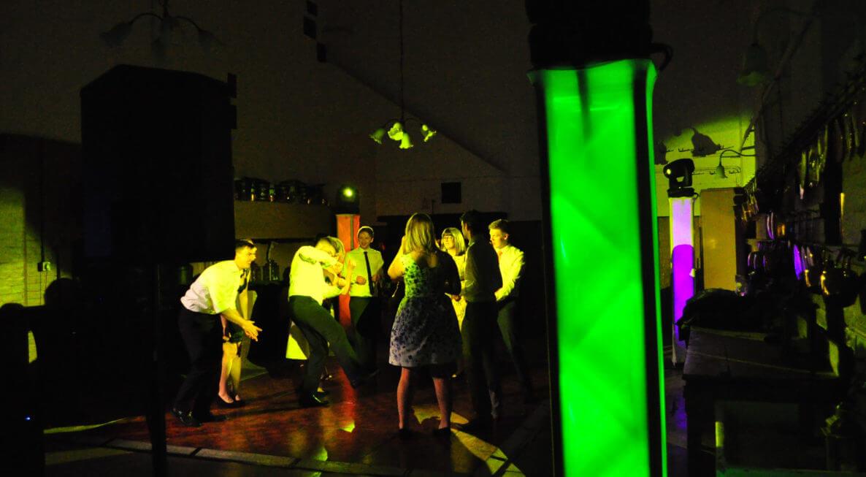 Belvoir Castle Wedding - Lighting