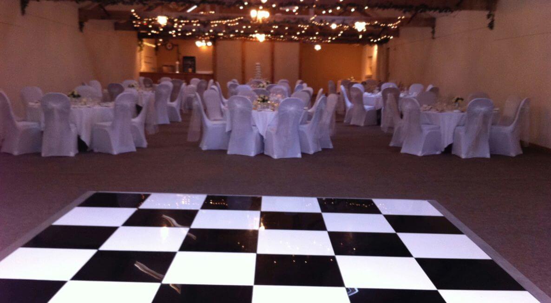 Dance Floor Hire at Halstead House
