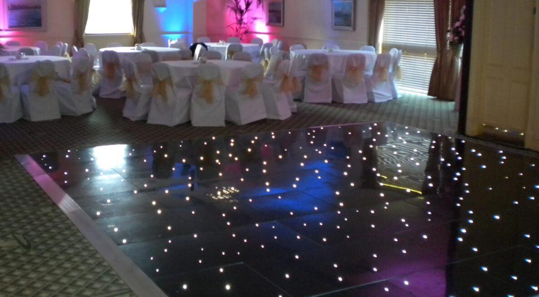 Donnington Valley Hotel Dance Floor Hire