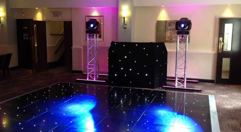 Wedding DJ at Hothorpe Hall