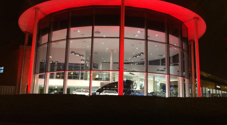 Building Illumination - Leicester