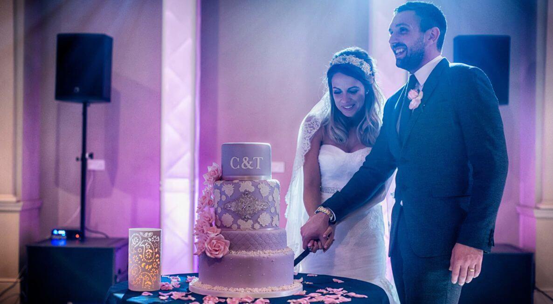 Lighting Hire for Weddings at Stubton Hall