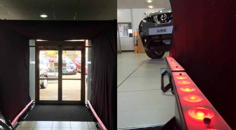 Showroom VIP Entrance