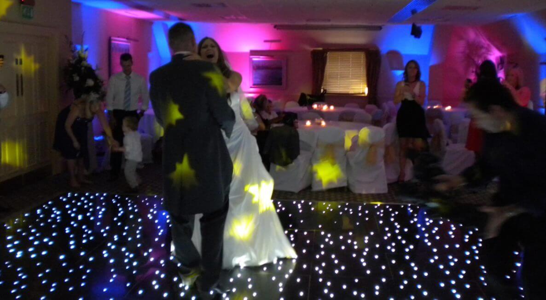 Wedding Decor at Donnington Vally Hotel & Spa