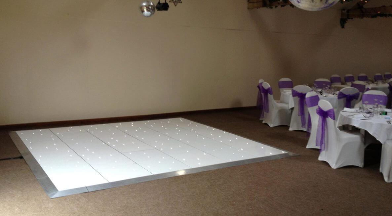 Wedding Lighting Hire at Halstead House