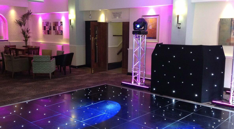 Dance Floor Hire at Hothorpe Hall
