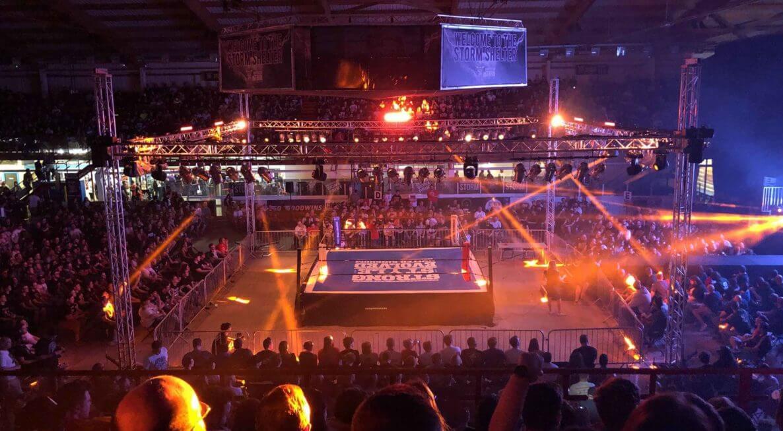 Wrestling tour Lighting