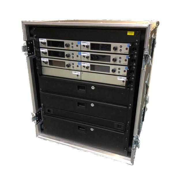 Sennheiser EW300 G4 6 Way Rack