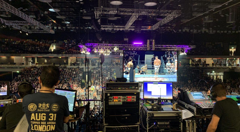 New Japan Wrestling Royal Quest Production